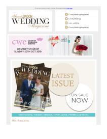 Your London Wedding magazine - May 2019 newsletter