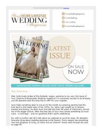 Your Cheshire & Merseyside Wedding magazine - May 2019 newsletter