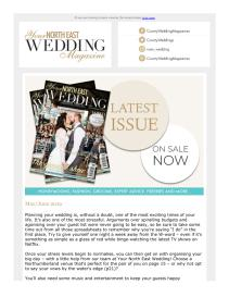 Your North East Wedding magazine - May 2019 newsletter