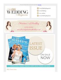 An Essex Wedding magazine - May 2019 newsletter