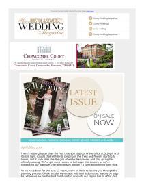 Your Bristol & Somerset Wedding magazine - June 2019 newsletter