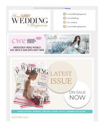 Your Surrey Wedding magazine - May 2019 newsletter