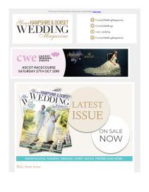 Your Hampshire & Dorset Wedding magazine - June 2019 newsletter
