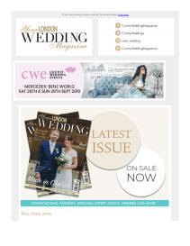 Your London Wedding magazine - June 2019 newsletter