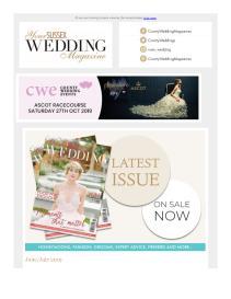 Your Sussex Wedding magazine - July 2019 newsletter