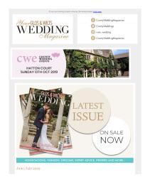 Your Glos & Wilts Wedding magazine - July 2019 newsletter