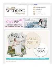 Your Kent Wedding magazine - July 2019 newsletter