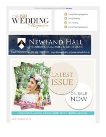 An Essex Wedding magazine - July 2019 newsletter