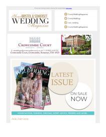 Your Bristol & Somerset Wedding magazine - August 2019 newsletter