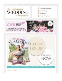 Your East Anglian Wedding magazine - July 2019 newsletter