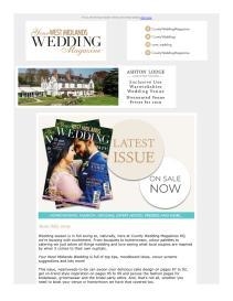 Your West Midlands Wedding magazine - July 2019 newsletter