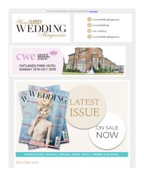 Your Surrey Wedding magazine - July 2019 newsletter