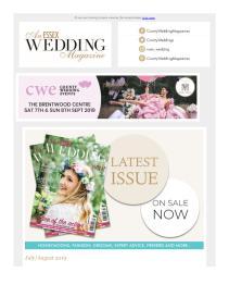 An Essex Wedding magazine - August 2019 newsletter