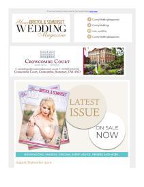 Your Bristol & Somerset Wedding magazine - September 2019 newsletter