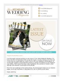 Your West Midlands Wedding magazine - August 2019 newsletter