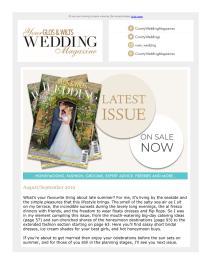 Your Glos & Wilts Wedding magazine - September 2019 newsletter