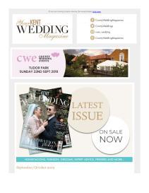 Your Kent Wedding magazine - September 2019 newsletter