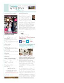 Your London Wedding magazine - March 2014 newsletter