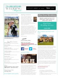 Your Berks, Bucks and Oxon Wedding magazine - April 2014 newsletter
