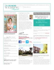 Your West Midlands Wedding magazine - April 2014 newsletter