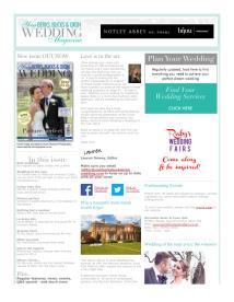 Your Berks, Bucks and Oxon Wedding magazine - May 2014 newsletter