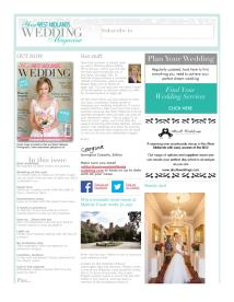 Your West Midlands Wedding magazine - May 2014 newsletter
