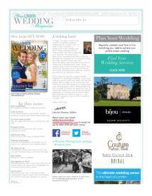 Your London Wedding magazine - May 2014 newsletter