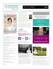 Your Berks, Bucks and Oxon Wedding magazine - June 2014 newsletter
