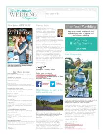 Your West Midlands Wedding magazine - June 2014 newsletter