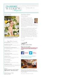 Your South Wales Wedding magazine - June 2014 newsletter
