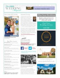 Your London Wedding magazine - June 2014 newsletter