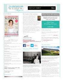 Your Berks, Bucks and Oxon Wedding magazine - July 2014 newsletter