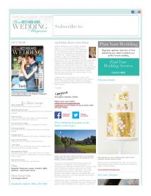 Your West Midlands Wedding magazine - July 2014 newsletter