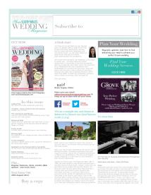 Your South Wales Wedding magazine - August 2014 newsletter