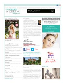 Your Berks, Bucks and Oxon Wedding magazine - August 2014 newsletter