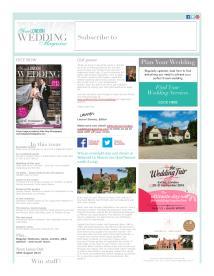 Your London Wedding magazine - August 2014 newsletter