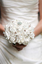 Bouquets with bling