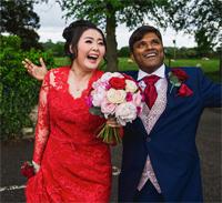 No ordinary wedding