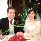 Our big day: Shaheen and Tim