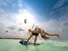 Learn kitesurfing in Zanzibar