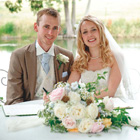 Our big day: Gemma and Duncan