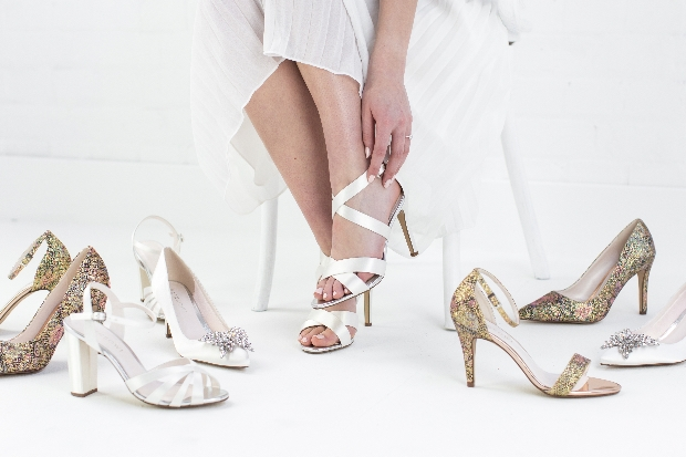 New limited edition bridal shoes by Rainbow Club unveiled in John Lewis this April
