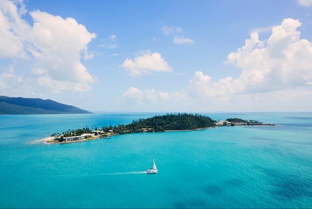 Honeymoon on Daydream Island