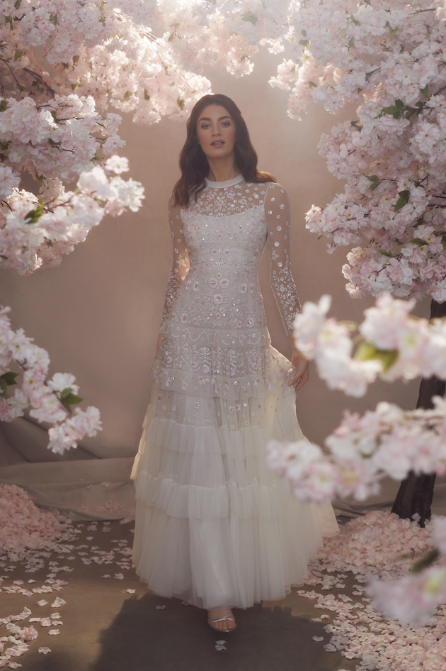 Vintage style wedding dress from needle and thread