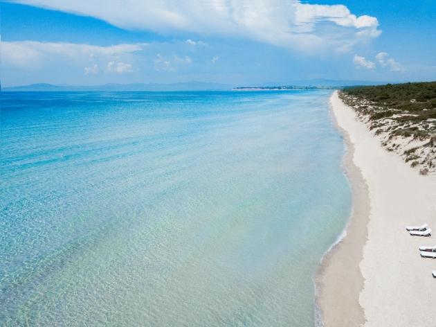 beach view sea and sand
