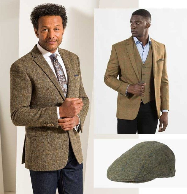models in tradition country tweed selection