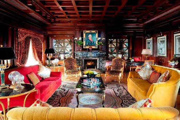 grand colour interior sofas and furniture very avant garde
