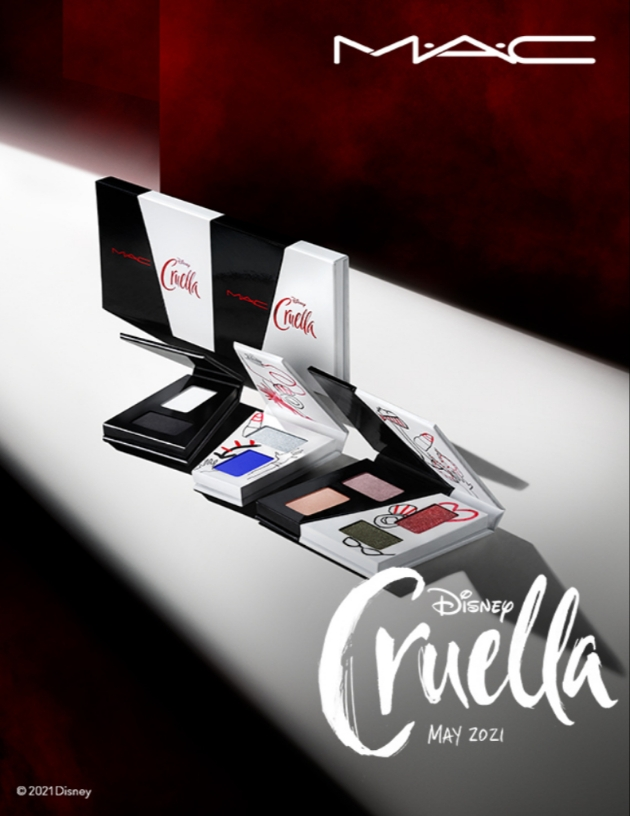 MAC CRUELLA COLLECTION EYESHADOW X 8: Cruella To Be Kind