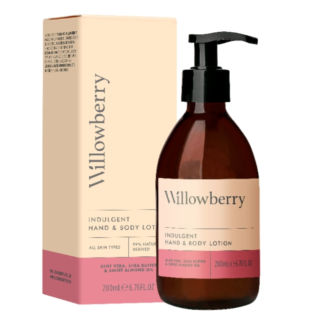The Willowberry Indulgent Hand & Body Lotion 200ml, £29.99