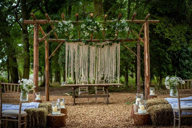 Whimsical woodland wedding: Image 1